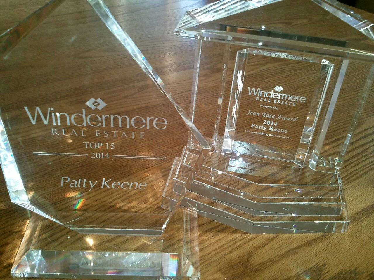Patty Keene Awards, Real Estate Agent